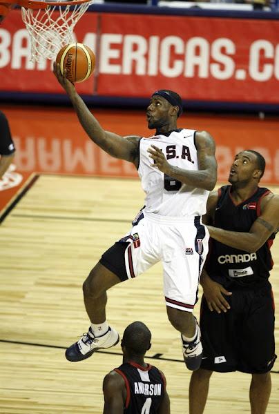 USA Basketball photo recap USA vs Canada