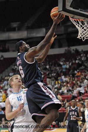 USA Basketball photo recap USA vs Uruguay