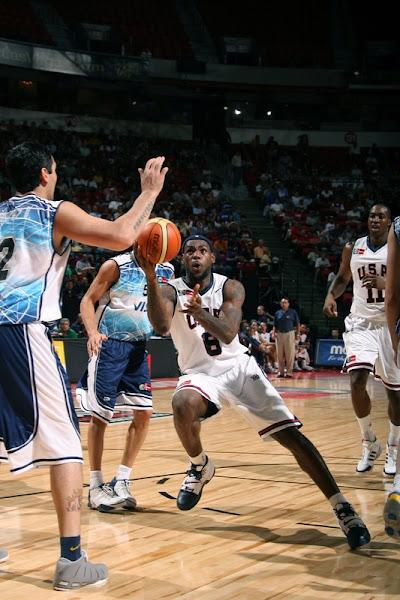 USA Basketball photo recap USA vs Argentina