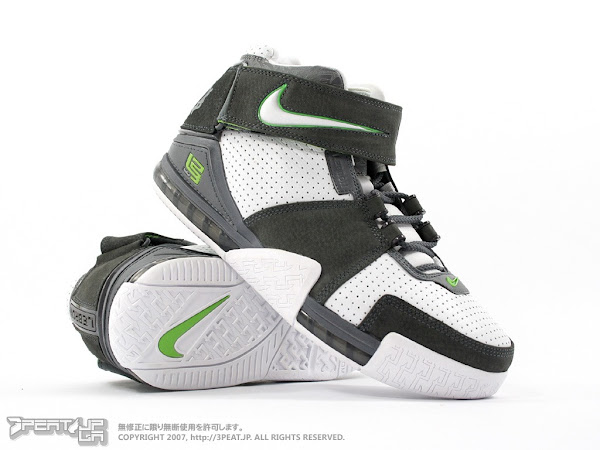 The One and Only Zoom LeBron II Dunkman Edition