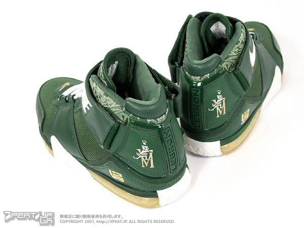 Nike Zoom LeBron II SVSM PE Home vs Away