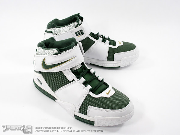 new style a133d f5ffd ... Nike Zoom LeBron II SVSM PE Home vs Away ...