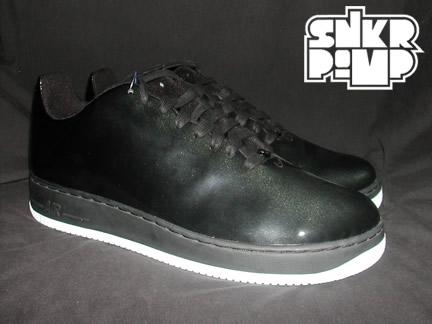 New Nike Air Force 1 LeBron Black and White