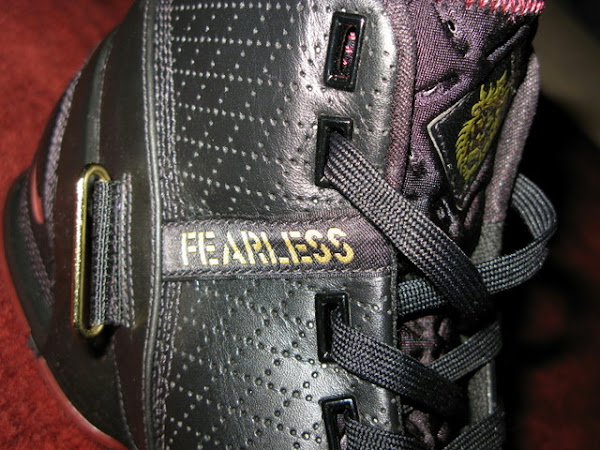 A closer look at the 8220Fearless8221 Zoom LeBron V