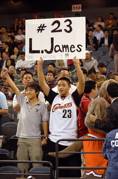 King James in China photo recap Game Two