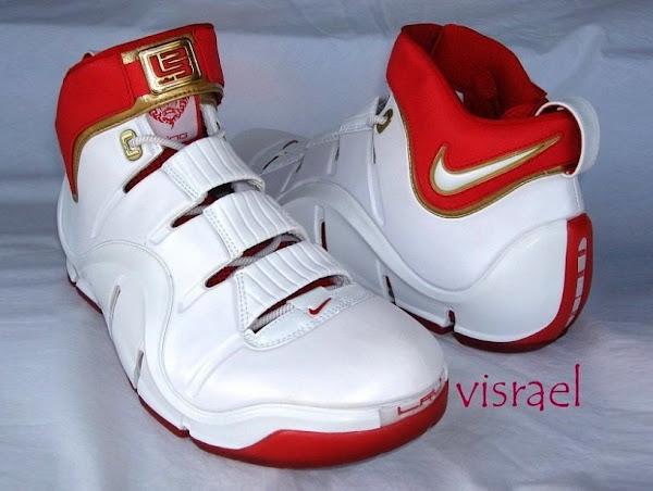 Nike Zoom LeBron IV Cleveland Home PE