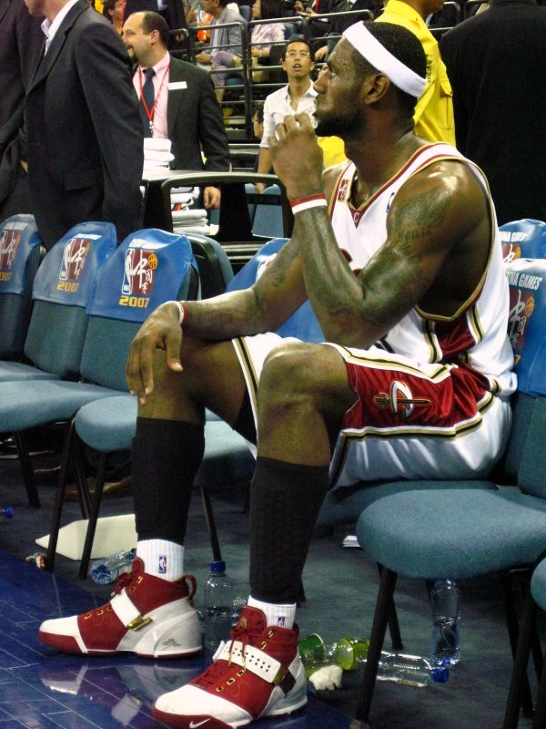 LeBron's Nike LeBron V China Player Exclusive | NIKE ...