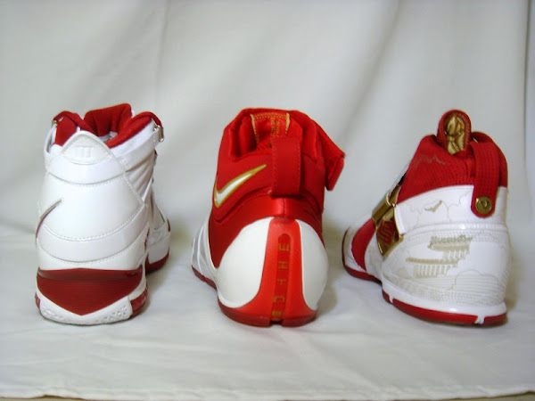 Nike Zoom LeBron China exclusive family