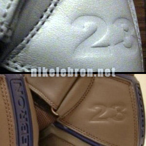 LeBron James8217 Nike Zoom Player Exclusive Emblems