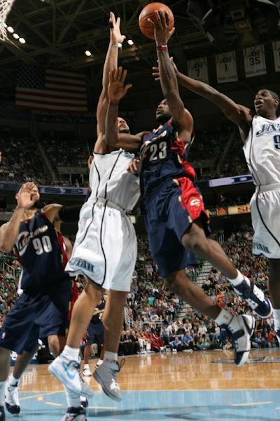 200708 NBA Season CLE at UTA TripleDouble but no win