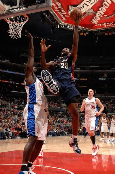 200708 NBA Season CLE at SAC LAC Improved to 32