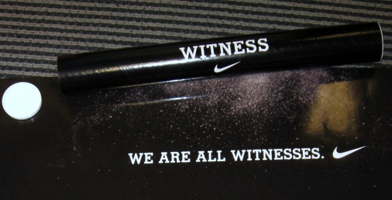 online store 48db6 507d5 ... Nike WE ARE ALL WITNESSES poster available for purchase ...