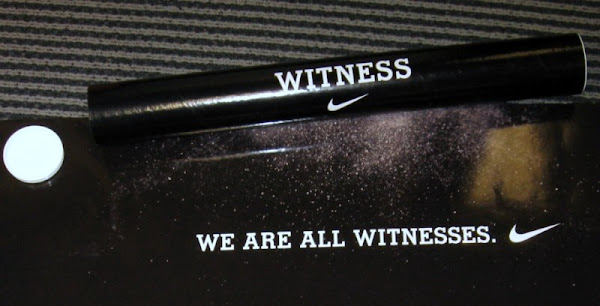 Nike WE ARE ALL WITNESSES poster available for purchase