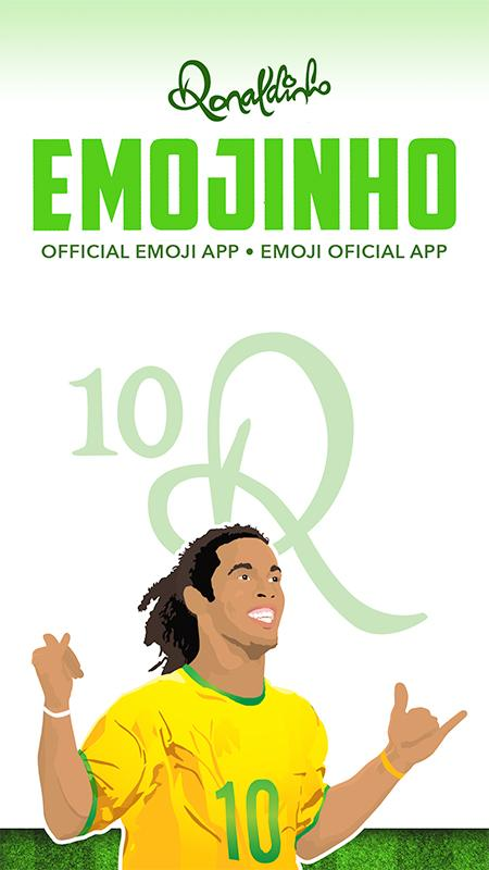 Emojinho - Ronaldinho Stickers- screenshot