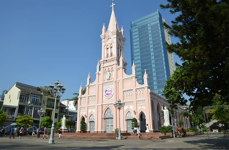 Da Nang Cathedral in the city center