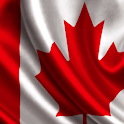 canada flag live wallpaper icon