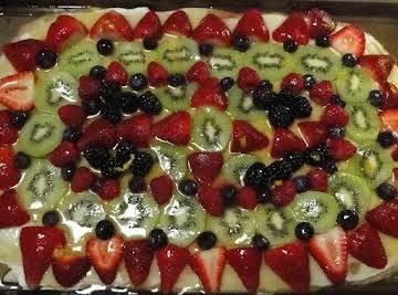 Teacherman's Fruit Pizza