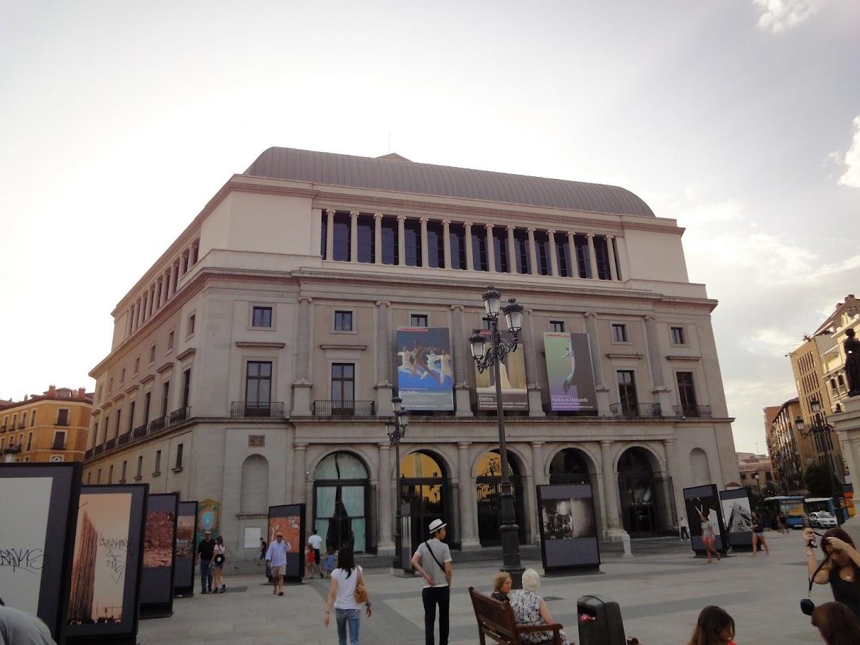 Théâtre royal à Madrid