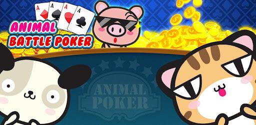 Animal battle poker captures d'écran