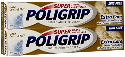 image of Super Pologrip denture adhesive
