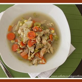 Leftover Turkey Soup... Recipe