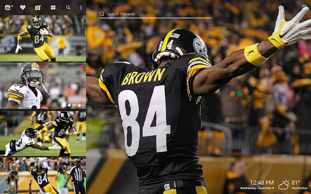 Antonio Brown Nfl Hd Wallpapers New Tab Theme