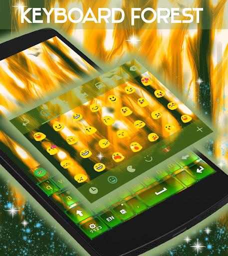 無料个人化Appの森林キーボード|記事Game