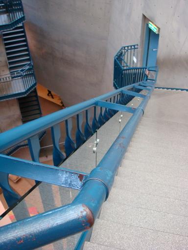八角塔內螺旋階梯