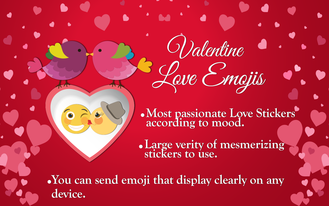 valentine love emojis android apps on google play