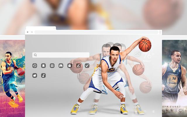 Stephen Curry NBA HD Wallpaper Themes