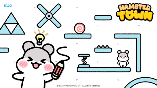 Hamster Town, the cutest drawing puzzle game ever screenshots 8