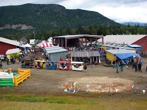 Photo: The Alaska State Fair in Haines.