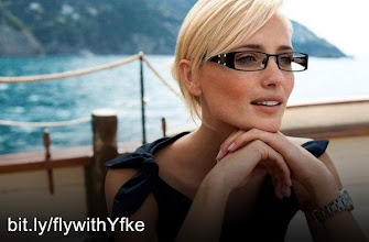 Photo: Do you want Yfke Sturm to choose YOU? For a free flight to NYC answer a few questions and she will decide! - First go to http://bit.ly/flywithYfke then answer a few short questions about fashion, finally register for your chance to WIN!