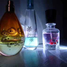 perfume bottles by Nick Parker - Artistic Objects Clothing & Accessories ( perfume, bottles,  )