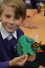 Photo: Pop Up Bug Workshops with Paul Stickland at Oakland's Primary School