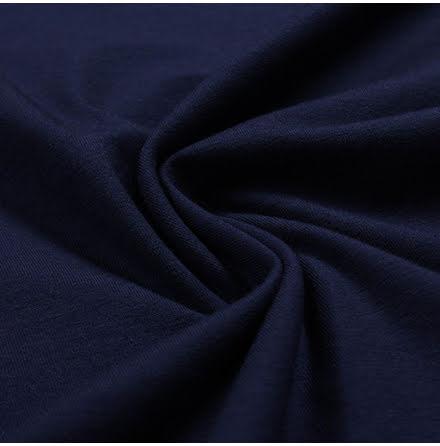 EKO Bomullstrikå - mörkblå