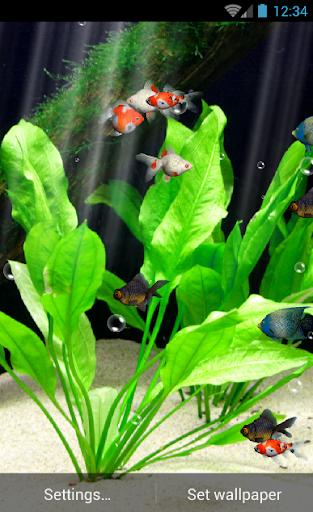 Aquarium Live Wallpaper Free  screenshots 3