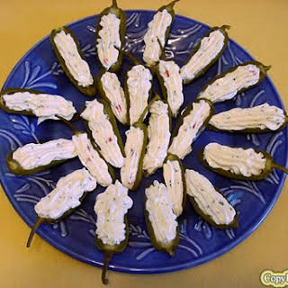 Luby's Stuffed Jalapeno Peppers.