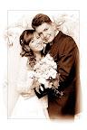 wspólne ślubne zdjęcie