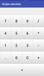 Simple and basic calculator - náhled