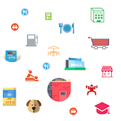 Around Me Explorer: Shops, Places  & More Android APK Download Free By Zotanko Biralabs