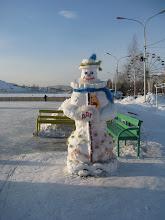 Photo: снеговик