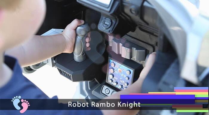 Siêu phẩm Robot Rambo Knight Cho bé 8