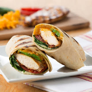 Grilled California Chicken Wrap.