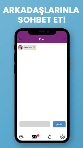 10E-Ücretsiz Arkadaşlık sitesi-sohbet uygulaması screenshot 5