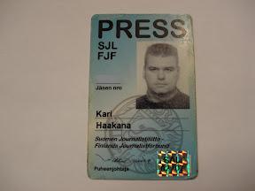 Lehdistökortti