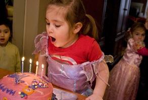 alli cake candles