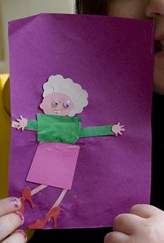 alli grandma picture detail