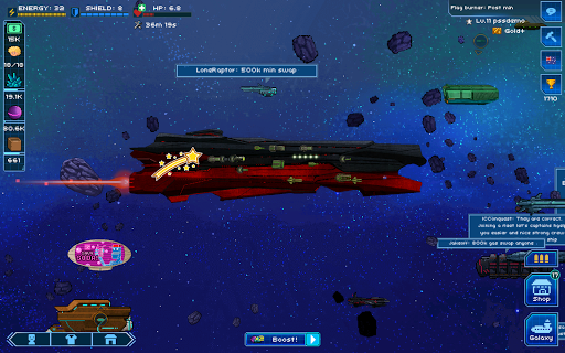 Pixel Starshipsu2122 0.949.7 screenshots 16