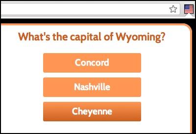 QuizCards: US Capitals